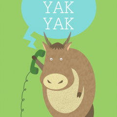 Yak on the Phone